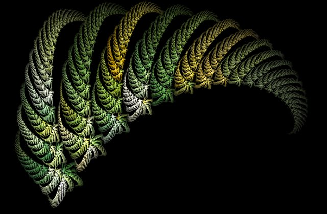 Black And Green Wallpaper Fractal Fern Free Backgrounds And Textures Cr103 Com