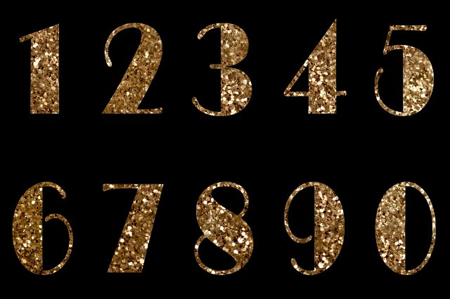 Shutterstock Hd Wallpapers Golden Glittering Numbers Free Backgrounds And Textures
