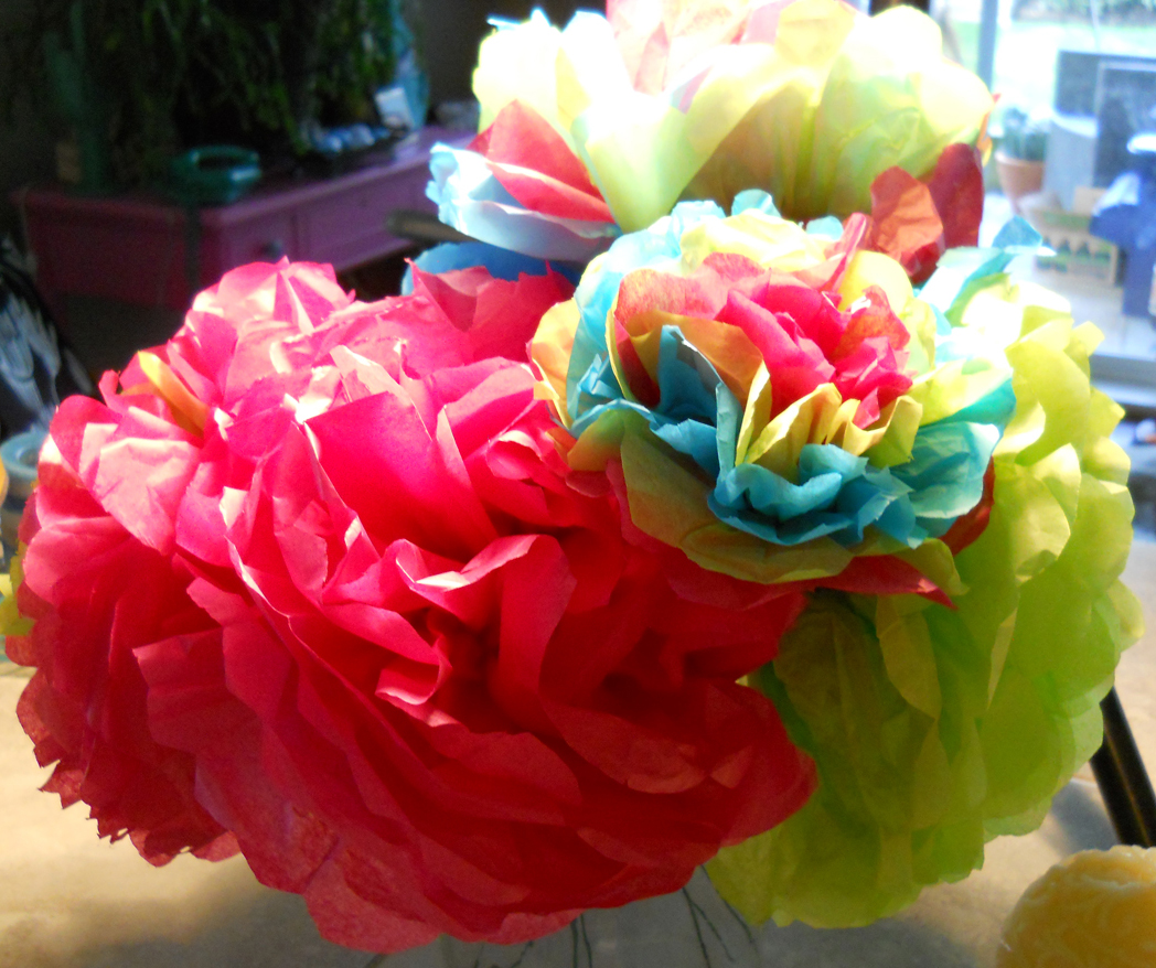 how to make mexican paper flower