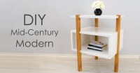 DIY Mid-Century Modern Side Table / End Table - Creativity ...