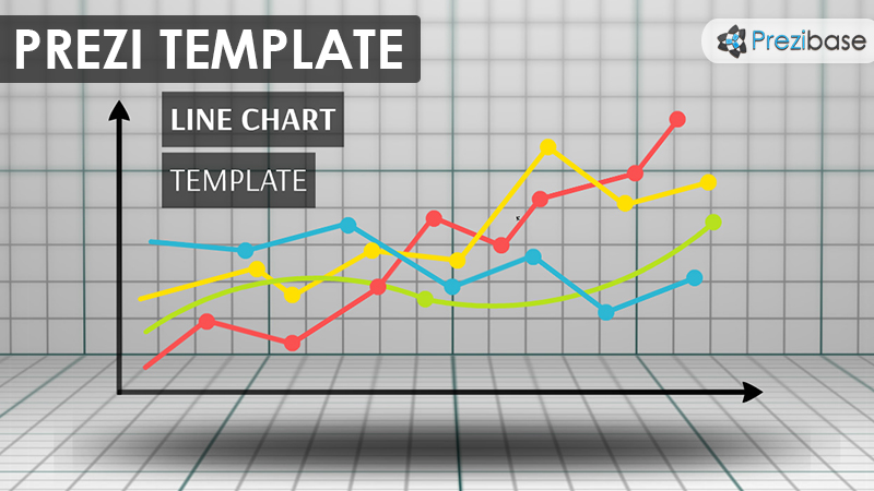 Line Chart \u2013 Prezi Presentation Template Creatoz collection - line graphs template