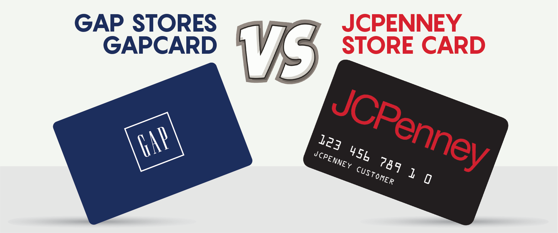 Stores Credit Card The Gapcard Vs Jcpenney 39s Store Credit Card Creditloan