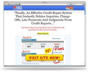 37 Days to Clean Credit