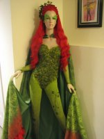 Uma Thurman Poison Ivy Costume