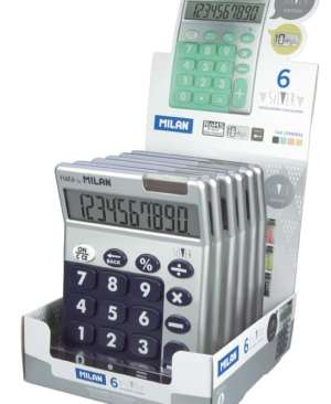 calculator-10-digiti-milan-silver-906SL