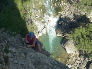 stage Via ferrata