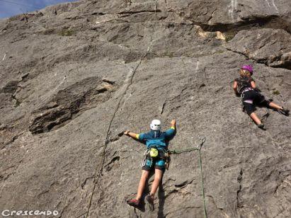 CAF d'Embrun - stage d'escalade pour les jeunes