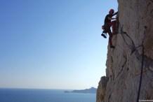 apprendre l'escalade, stage grande voie