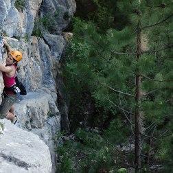 Ombres etLumières, Stge grande voie Hautes-Alpes, escalade adulte