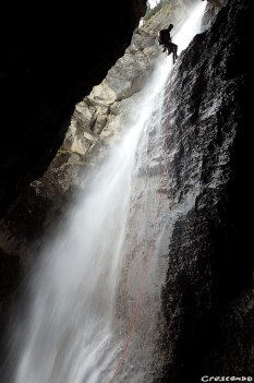Canyoning formation, canyon Hautes-Alpes, guide canyon