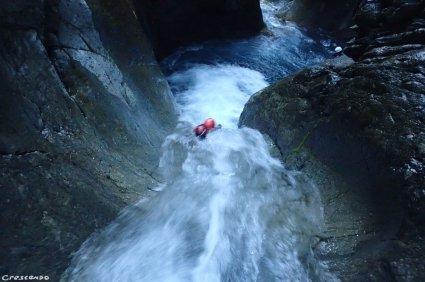 toboggan canyon, canyon ludique, canyon sportif 05