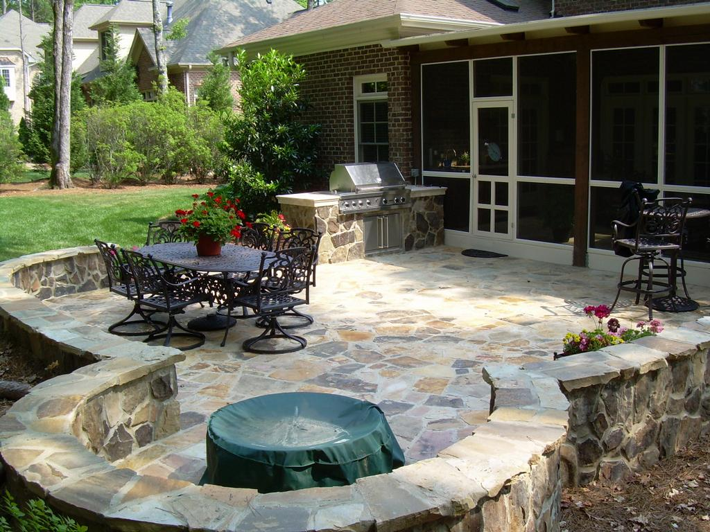 Backyard Patio Ideas Crescent Dc Stone Patios Design And Construction