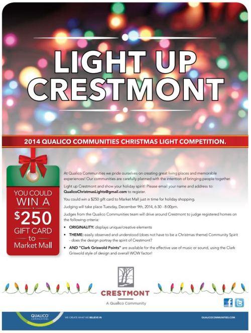 Crestmont Christmas Light Contest The Crestmont Community Association