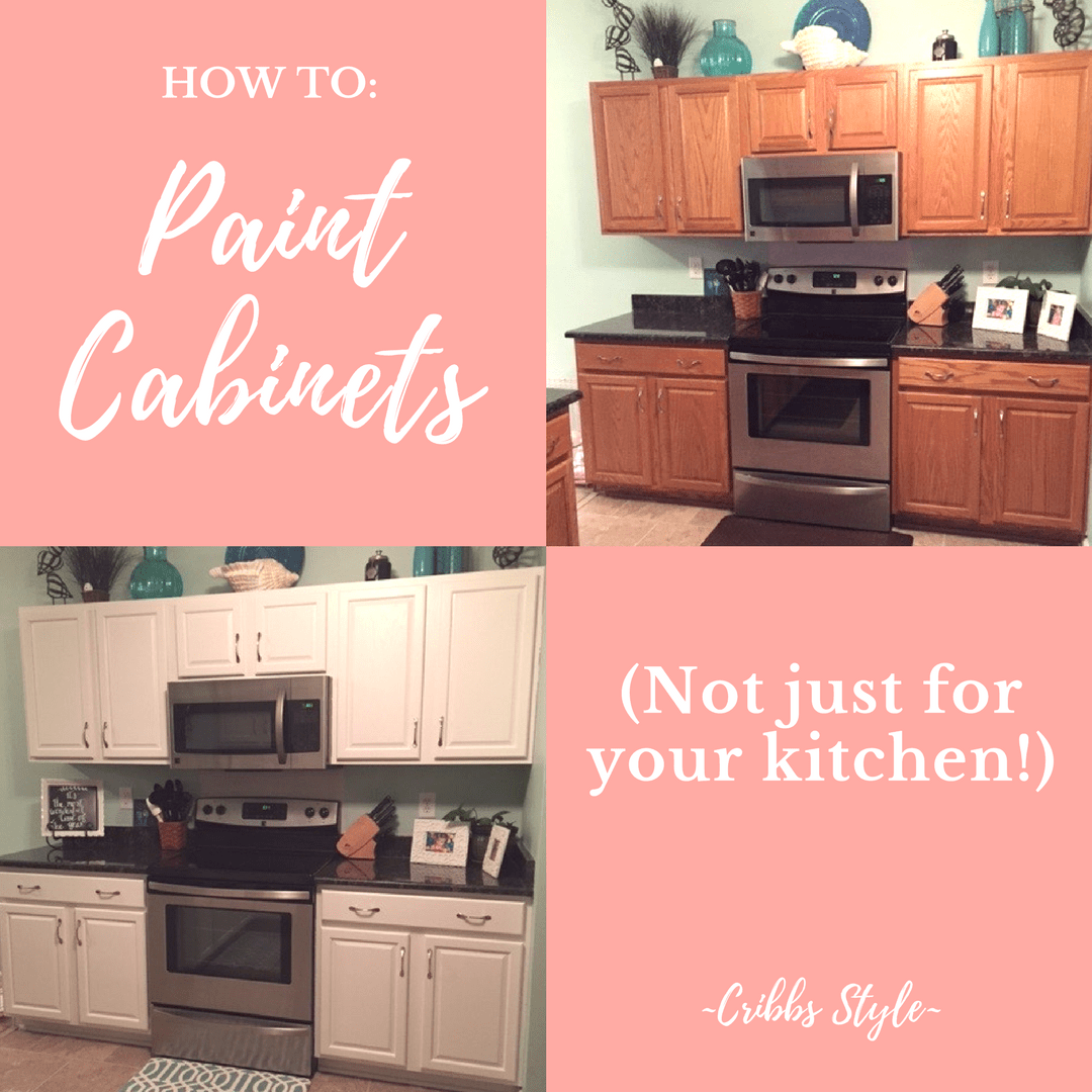 Pink Kitchen Paint How To Paint Cabinets Not Just For Your Kitchen Cribbs Style