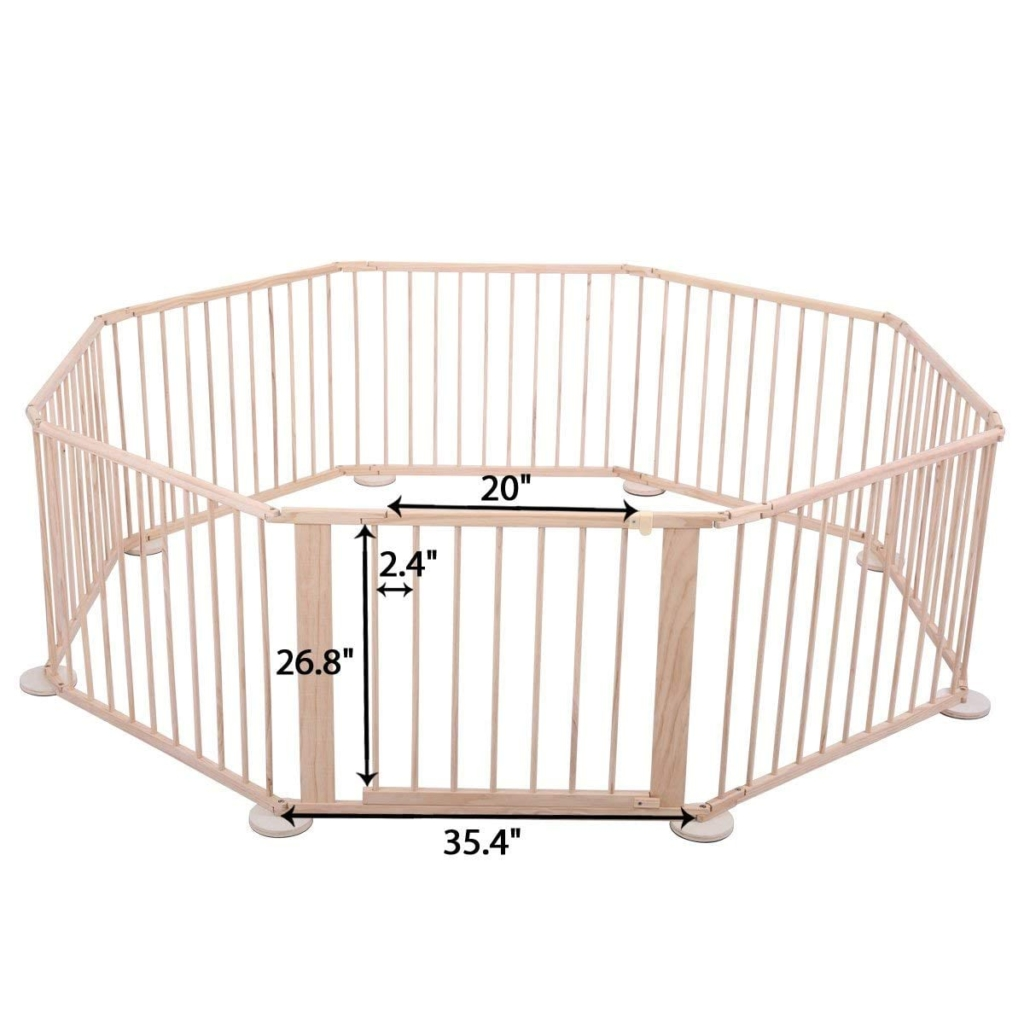 Baby Playpen Height Wooden Playpen For Babies Crib N Playard