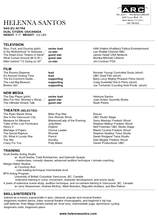 Critiques Your Resumés - guidelines for what to include in a resume