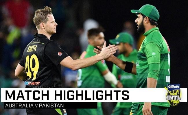 Pakistan Vs Australia 2nd T20 Highlights Nov 05 2019 Cricketnlive