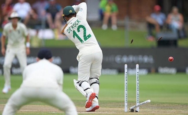 Sa Vs Eng England Enforce Follow On After Shattering