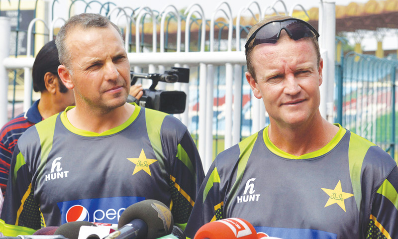 Adding up to the prevailing troubles of Pakistan Cricket Team, the fielding coachGrand Luden retires following a verbal quarrel with players.