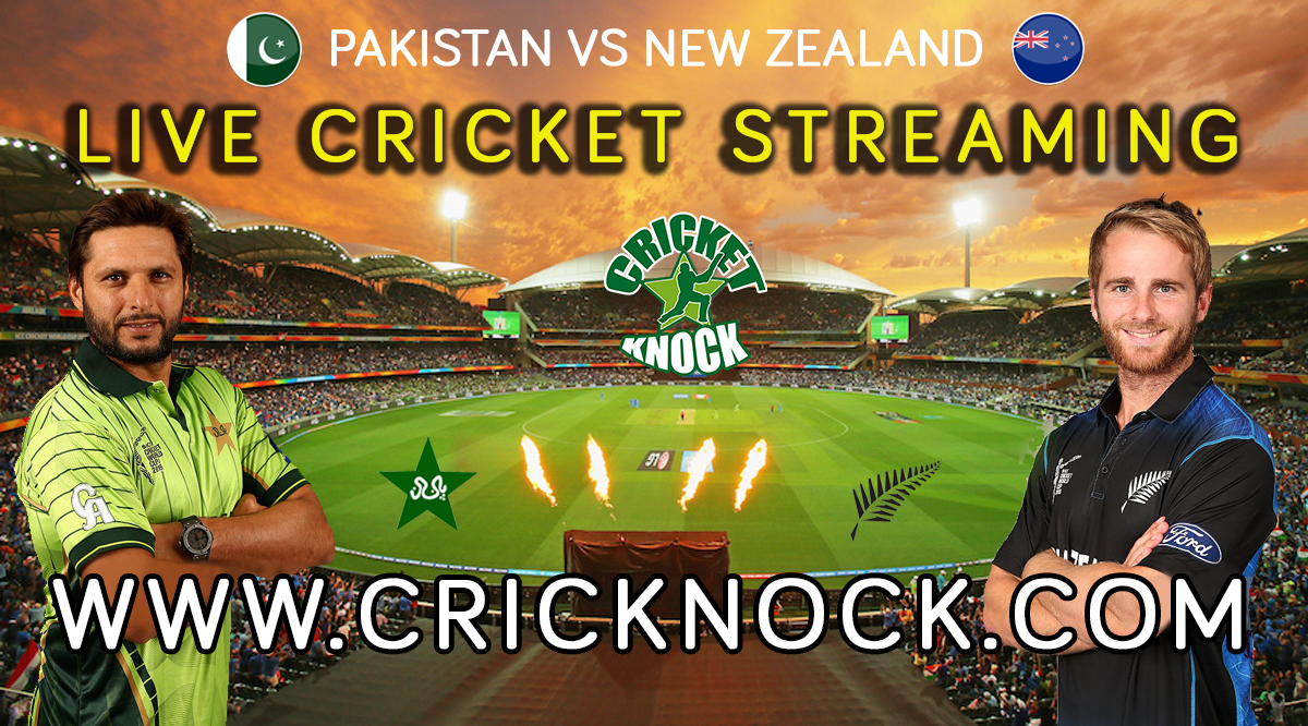 Pakistan vs New Zealand Live Cricket Streaming 2016