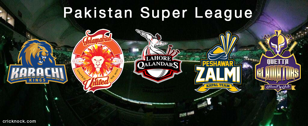 Pakistan Super League team logos