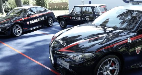 politie italie alfa romeo, carabinieri giulia alfa, politie auto alfa carabinieri