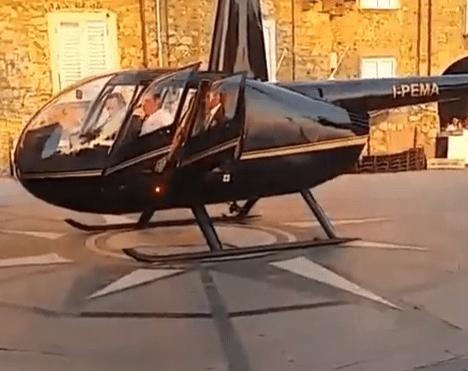 maffia trouwfeest video, maffia trouwerij ndrangheta, helikopter trouwen maffia
