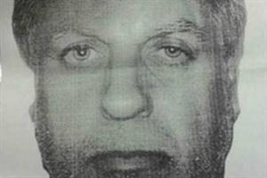 El sospechoso detenido en Palermo.