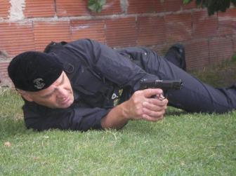 El entrenamiento de los guardianes civiles.