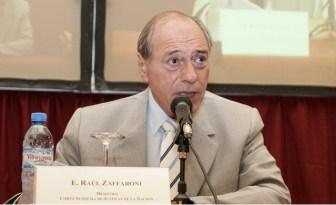 Zaffaroni acusó a los medios