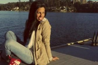Nicole viajó a la Argentina para un intercambio estudiantil.