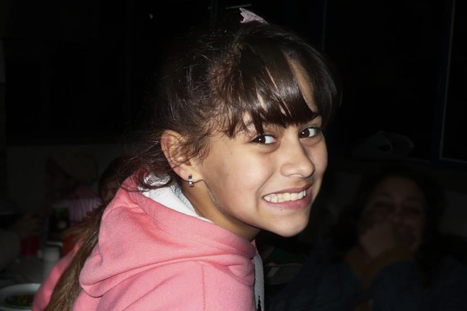 Candela tenía once años cuando la asesinaron.