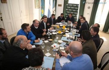 La reunión de intendentes y fiscales.