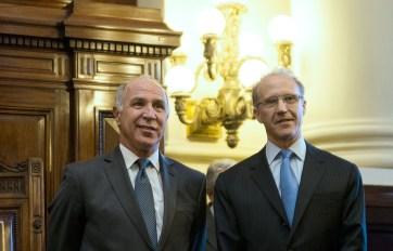 Lorenzetti y Rosenkrantz, enfrentados por la presidencia.