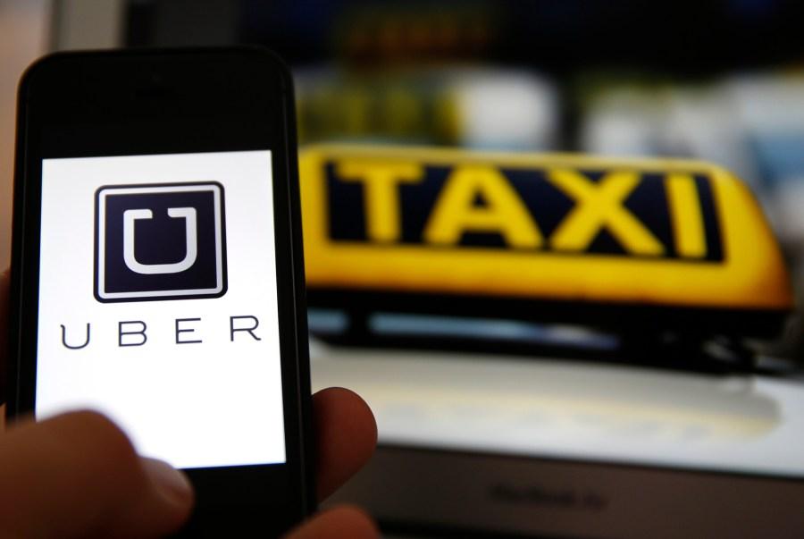 Uber está en conflicto con la ciudad.