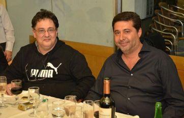 Rizzo y Angelici. Una imagen de otros tiempos.