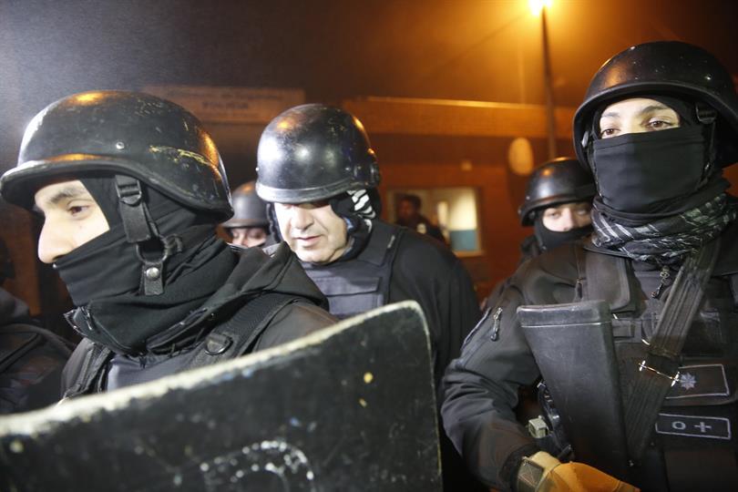 Minicelli fue detenido por el dato de un vecino.
