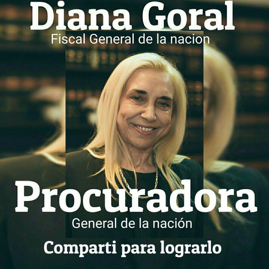 Dianara Goral tiene su propia página.