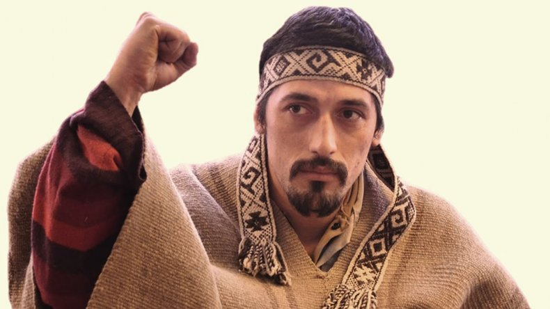 Facundo Jobes Huala, el lonko mapuche.