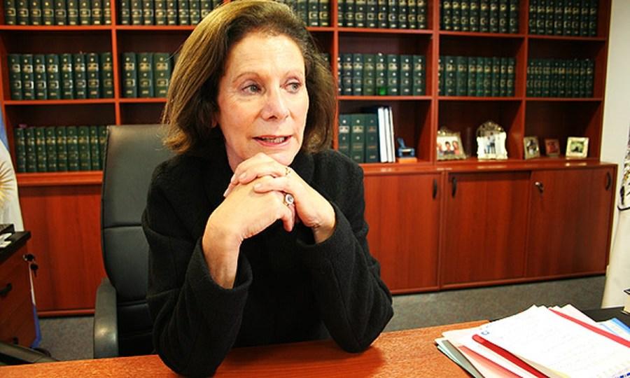 Weinberg de Roca es jueza en Tribunal Superior