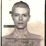 """David Bowies mugshot is """"the greatest photo in [Rochester Police Department] history"""""""