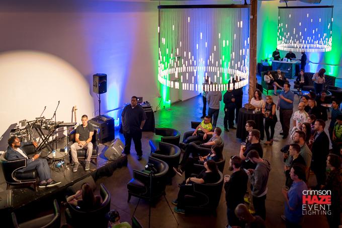 Fundraising event, Canvas Event Space, April 2016