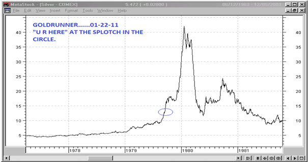 Silver To $52-$56 By May-June A Fractal Analysis Suggests CRISISBOOM