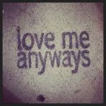 love me anyways sidewalk art spray paint tagging inspiration whilehellip