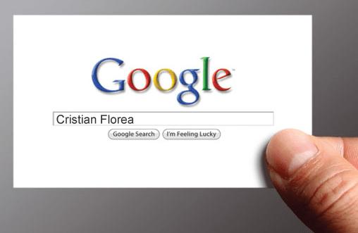 carte de vizita - cristian florea