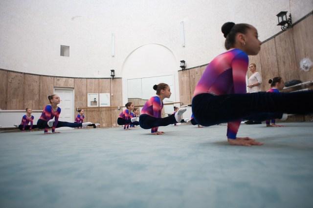 antrenament junioare gimnastica 12