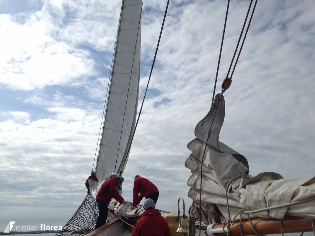 aventura pe o nava cu panze - constanta varna 22