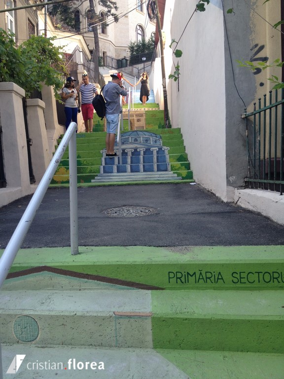 strada xenofon - bucuresti - trepte pictate (2)