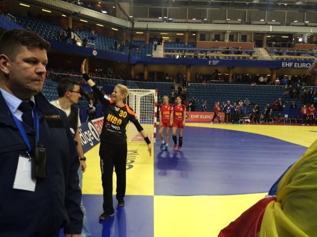 Romania - Danemarca la Campionatul European de Handbal feminin (5)