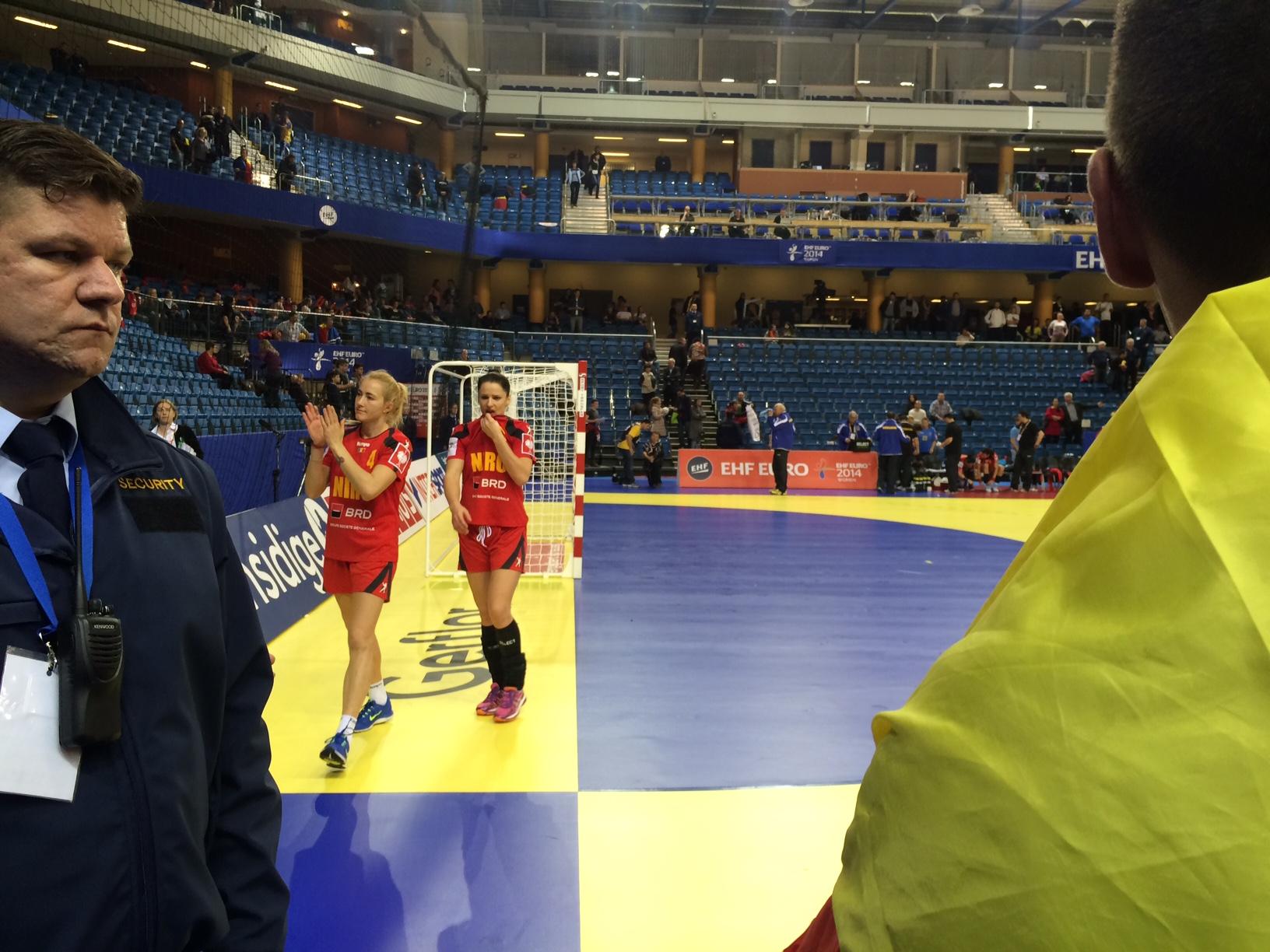 Romania - Danemarca la Campionatul European de Handbal feminin (7)